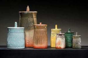 Porcelain Storage Jars