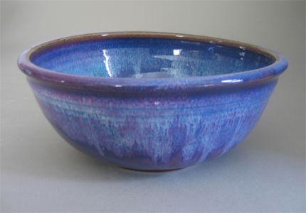 Medium Bowl in Plum Purple