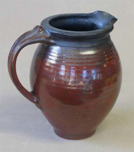 Small Pitcher in Ohata Kaki