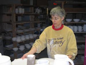 Iris loading kiln
